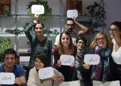 De refugiados a profesores de idiomas en Barcelona