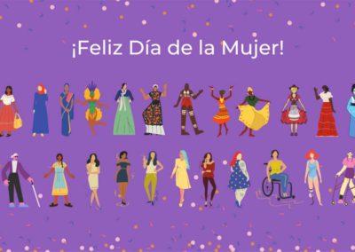 Felíz Día de la Mujer