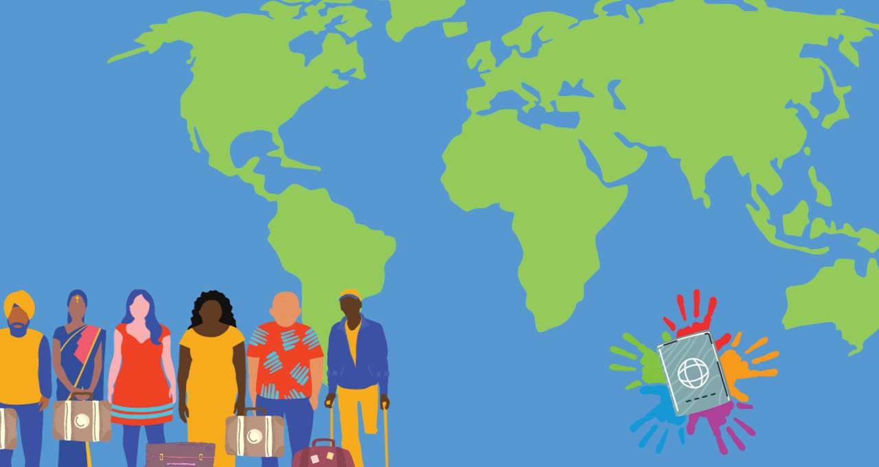 Cabecera artículo aporte de migrantes alrededor del mundo
